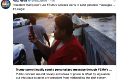 trump_cannot_legally_send_a_personalized_message_through_FEMA